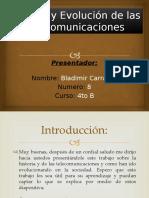 Historia y Evolución de las Telecomunicaciones.pptx