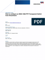 CMC AppNote Configure Hirschmann PTP Transparent Switch 2017 ENU