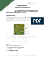 Lab n°1 DETERMINACION DE LA HUMEDAD DEL SUELO