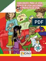 Habilidades Para La Vida, Estilos de Vida Saludable y Proyecto de Vida -Adolescencia