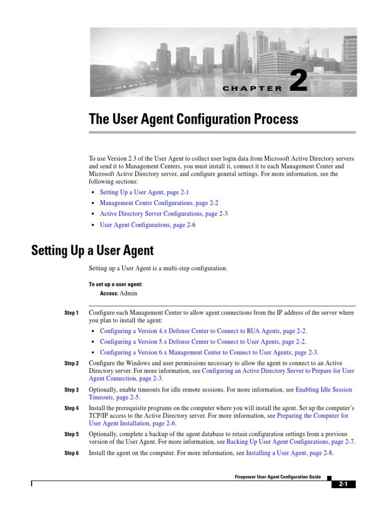ConfigAgent pdf | Active Directory | Remote Desktop Services