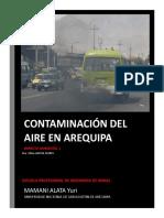 Trabajo- Contaminacion Atmosferica en Arequipa