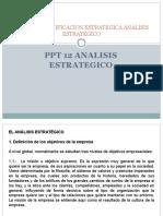 Ppt 12 Analisis Del Entorno