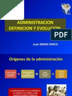 Clase 1 Administración