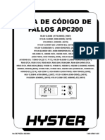Guia de Codigos de Fallo Apc200 h170hd-Hr4536