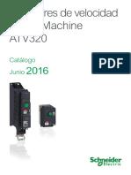 Catalogo de Variador de Velocidad Altivar320