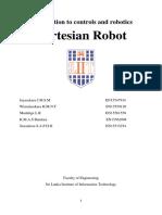 SLIIT EEE Y2S2 Control and Robotics Module Assignment