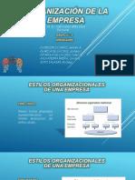 Organizacion de La Empresa - Grupo 5