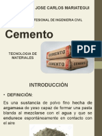 Cap v - Cemento