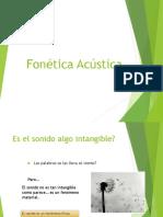 Fonética Acústica 1