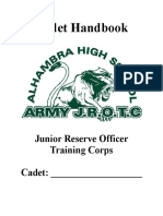 Cadet Hanbook 2016