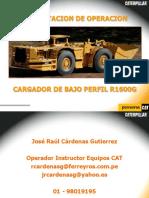 Cargador Fronyal Subterraneo Cat r1600g-II