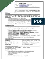 Vikasgarg Resume
