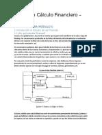 Resumen Introducción al Cálculo Financiero por Ana María Nappa Usado como material obligatorio en la Universidad Siglo XXi