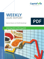 Agri Commodities Reports for the Week