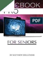 MacBook Pro For Seniors by Matthew Hollinder - 2015.epub