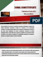 Venezuela - Constituyente Manual - Elias Jaua - 6 May 2017