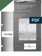Appendix C-7 Transmission Line ~  Acciona Industrial Wind /  FEIS /Cape Vincent New york