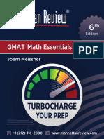 MR GMAT MathEssentials 6E