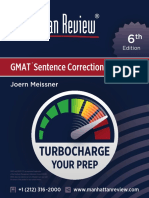 MR GMAT SentenceCorrection 6E