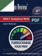 MR GMAT AnalyticalWriting 6E