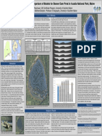 Bathymetric Mapping and a Comparison of Models for Beaver Dam Pond in Acadia National Park, Maine