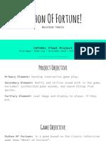 cst 205 python of fortune powerpoint presentation