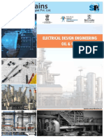 Brochure for Electrical Design Engineering Oil Gas