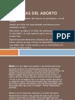 Las Causas Del Aborto