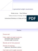 Weight Enumerator 09-05-12 Slides Wcc2009