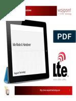 04 - LTE Idle Mode & Handover
