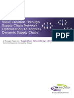 Supply Chain Network Optimization Services 16