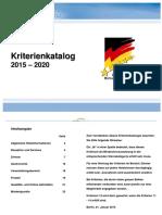 Deutsche Hotelklassifizierung 2015 2020 3