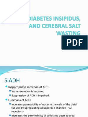 Adh and diabetes insipidus in tamil