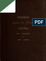 Hans Semper, Donatellos Leben und Werke, Innsbruck 1887
