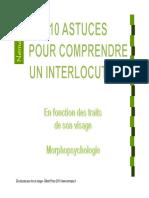 10 Astuces Pour Lire Un Visage