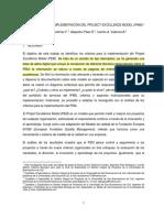 Criterio Proyect Excellence Model Ipma Gutiérrez 2014