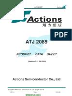 ATJ2085 Datasheet v1.5