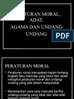 Peraturan Moral