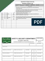 Example Patrol Log Blank