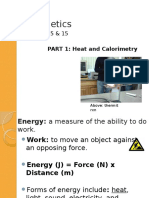 u05 Notes Part1 Heat Calorim