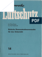 Schriftenreihe Luftschutz - 14 - Einfache Demonstrationsversuche für den Unterricht