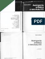 103205066 Avangarda Artistica a Sec XX Mario de Micheli