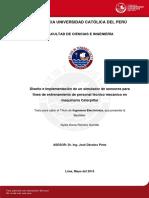 Tesis DISEÑO IMPLEMENTACION SIMULADOR Caterpillar(Universidad Catolica)