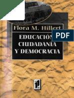HILLERT. Educación, ciudadanía y democracia.pdf