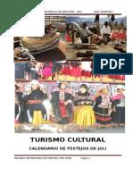 Festividades y fiestas patronales de Juli, Provincia de Chucuito, Departamento de Puno