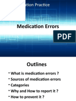 Medication Errors