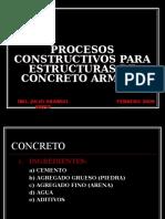 Procesos Constructivos Para Estructuras de Concreto Armado - Julio Arango
