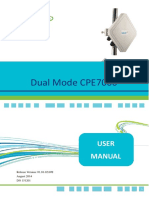 151201 Dual Mode CPE7000 Outdoor User Manual