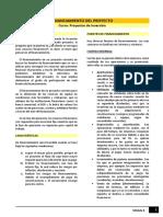Lectura - Financiamiento Del Proyecto m8_proyin